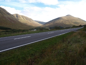 A82 North of Tyndrum